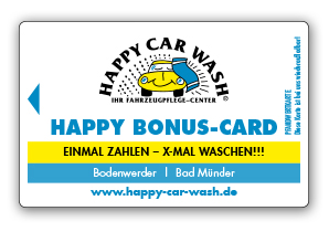 Happy Bonus-Card